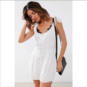 Urban Outfitters Button Down Romper